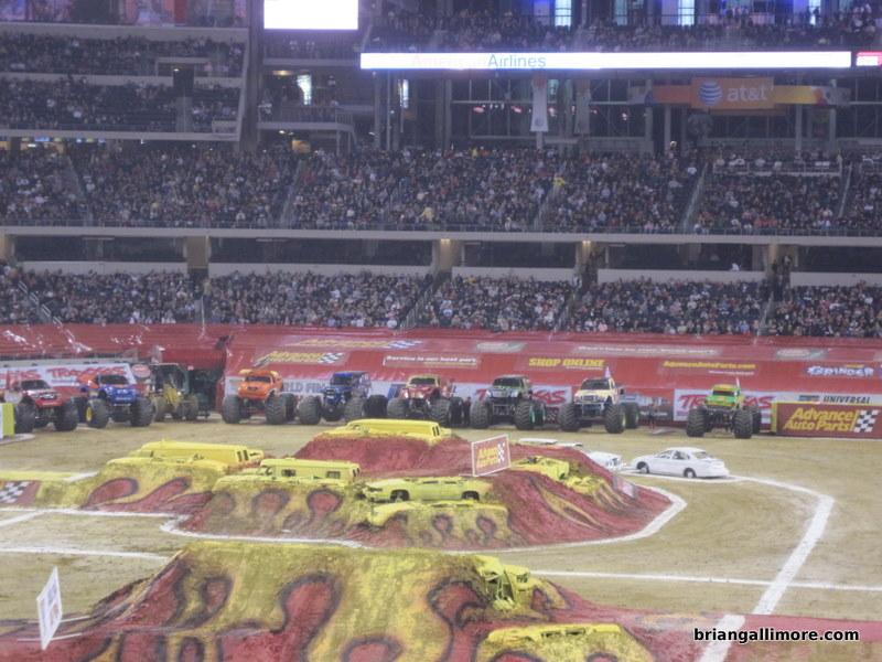 Monster Truck Dog >> Monster Truck Jam at Cowboys Stadium | Brian Gallimore's Blog