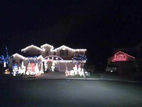 christmas ditto house