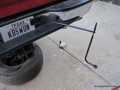 how to fix a broken front drive shaft motorbike