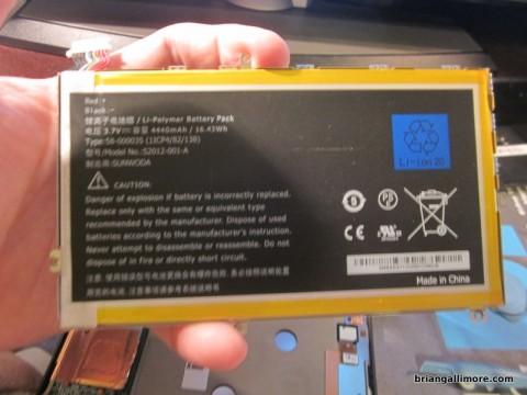 Kindle Fire HD 7 Battery
