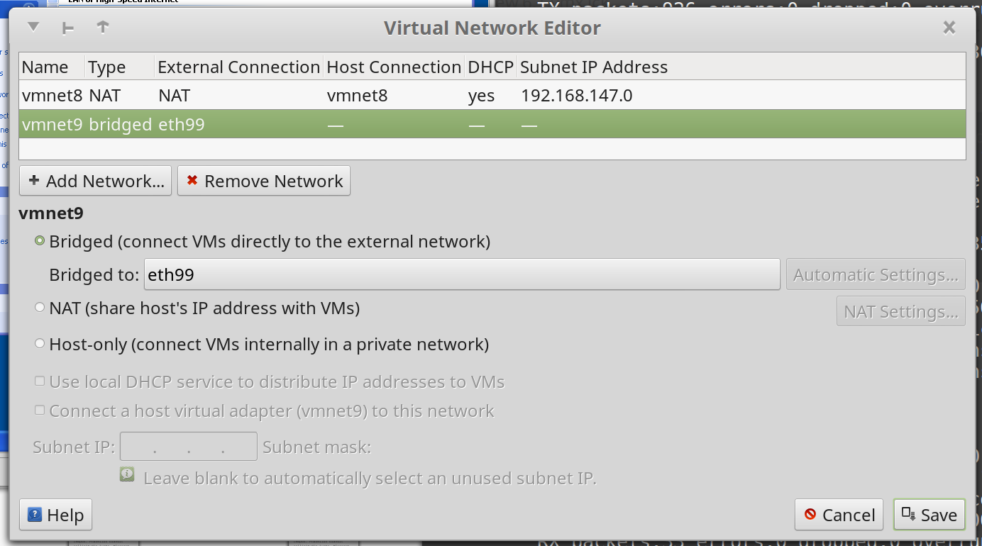 Virtual Network Interface Shared with VMWare and VirtualBox | Brian